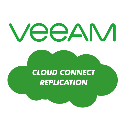Veeam Cloud Connect Replication License, 1-Month Cloud Rental, Per VM 1