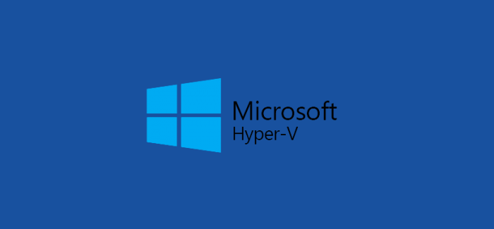 Cloud Backup and replication for Hyper-V Environments