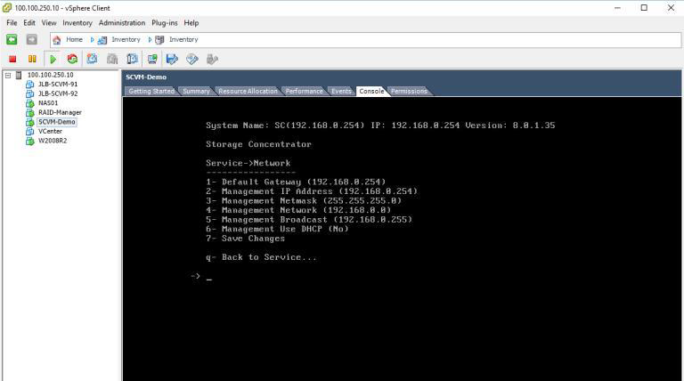 How to deploy software defined Virtual Machine (SCVM) on VMWare ESXi? 24