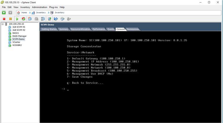 How to deploy software defined Virtual Machine (SCVM) on VMWare ESXi? 25