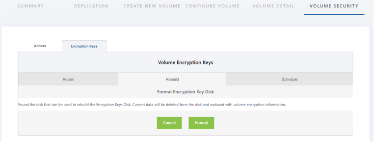 How can you restore encryption USB device in SAN 3