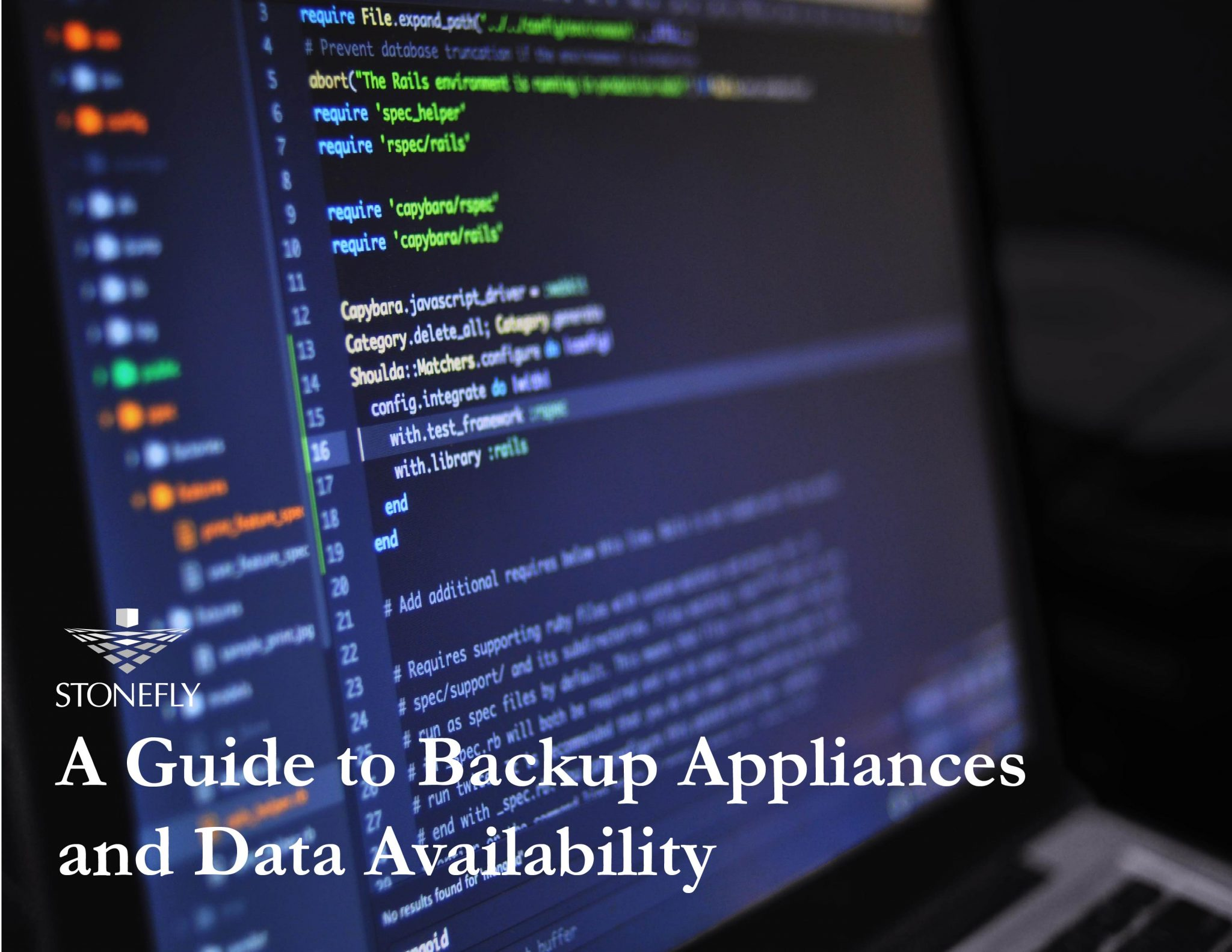 Free Ebook: A Guide to Backup Appliances and Data Availability 1