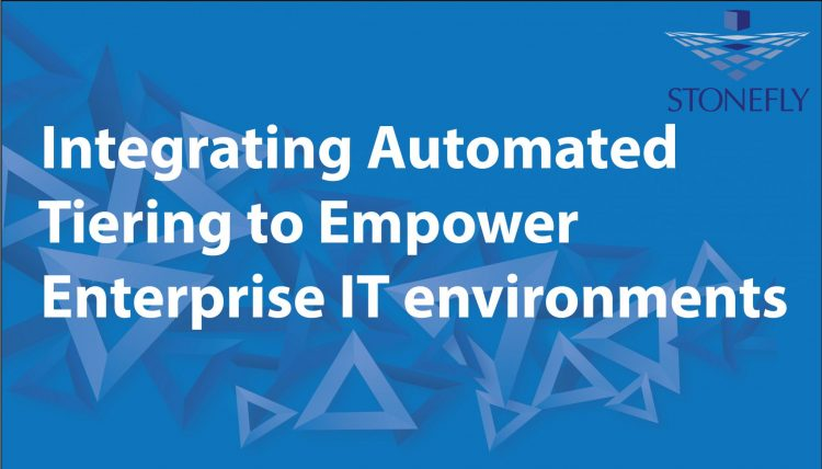 Integrating Automated Tiering to Empower Enterprise IT environments