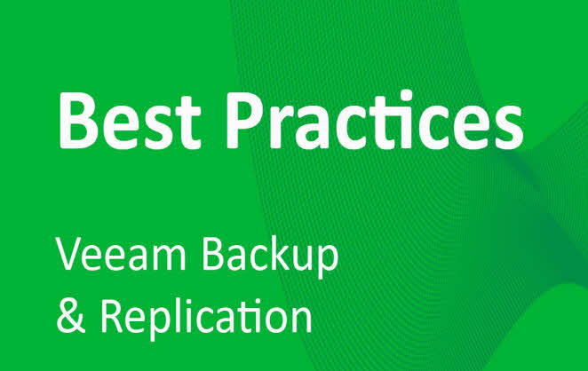 Veeam Backup & Replication Best Practices: #3 - Architecture overview