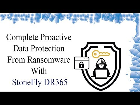 Complete Proactive Data Protection from Ransomware with StoneFly DR365