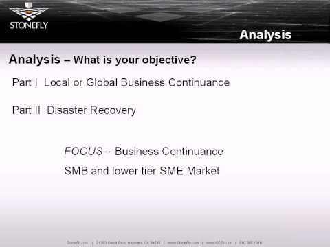 Business Continuity: Disaster Recovery Planning (Part 1)