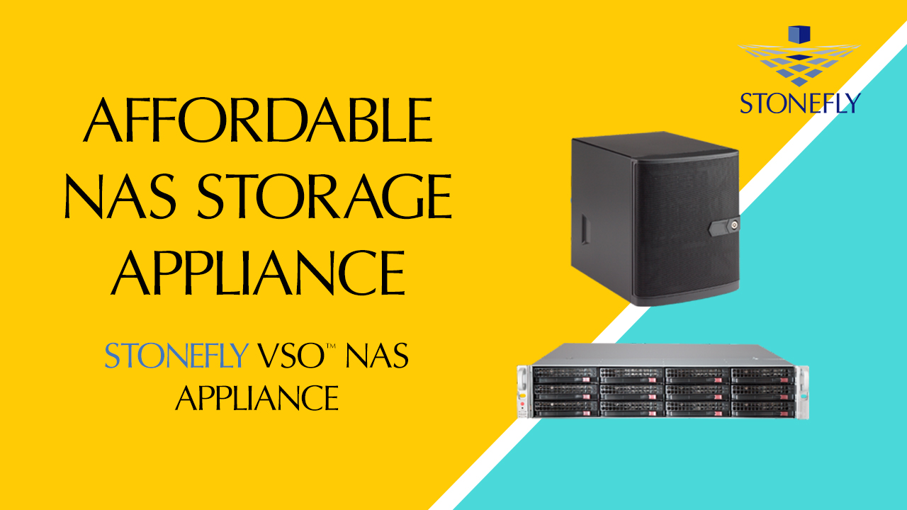 Affordable NAS Storage Appliance