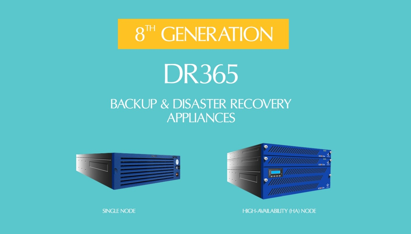 8th Generation DR365 Backup and Disaster Recovery Appliances 1