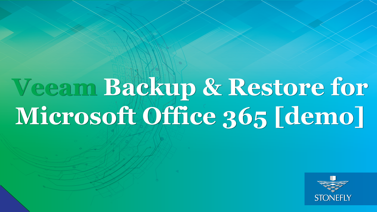 Veeam Backup and Restore for Microsoft Office 365 [Demo]