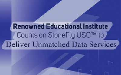 Renowned Educational Institute Counts on StoneFly USO™ to Deliver Unmatched Data Services