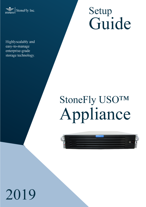 StoneFly Appliance and User Manuals 5
