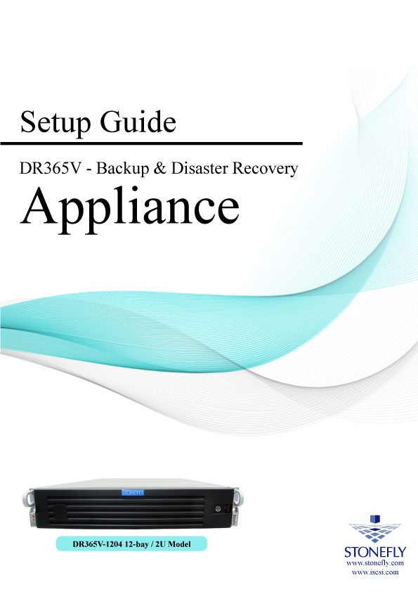 StoneFly Appliance and User Manuals 14