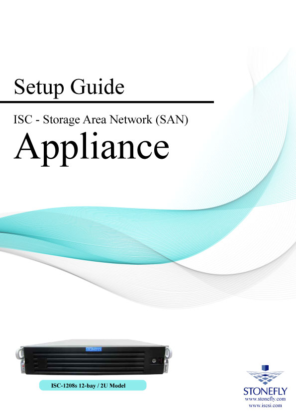 StoneFly Appliance and User Manuals 2