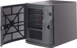 4-Bay StoneFly I-Series VSO Scale Out NAS Appliance, Mini Tower/Cube (3.5″ SATA)