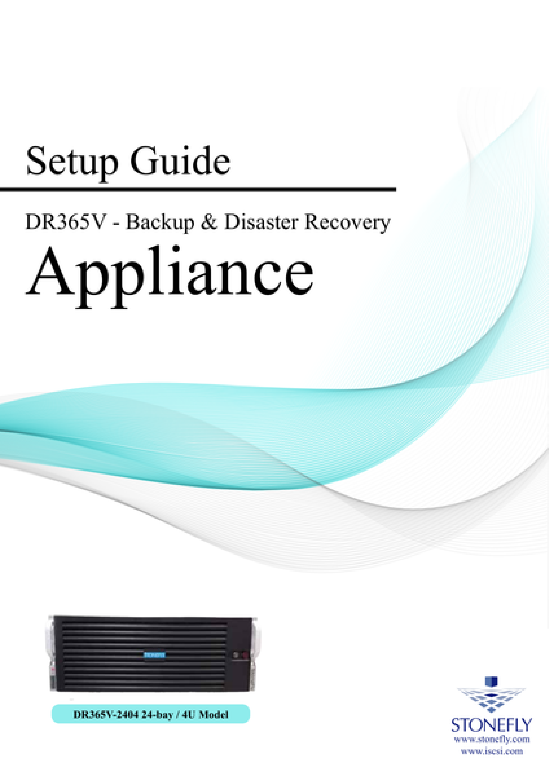 StoneFly Appliance and User Manuals 16