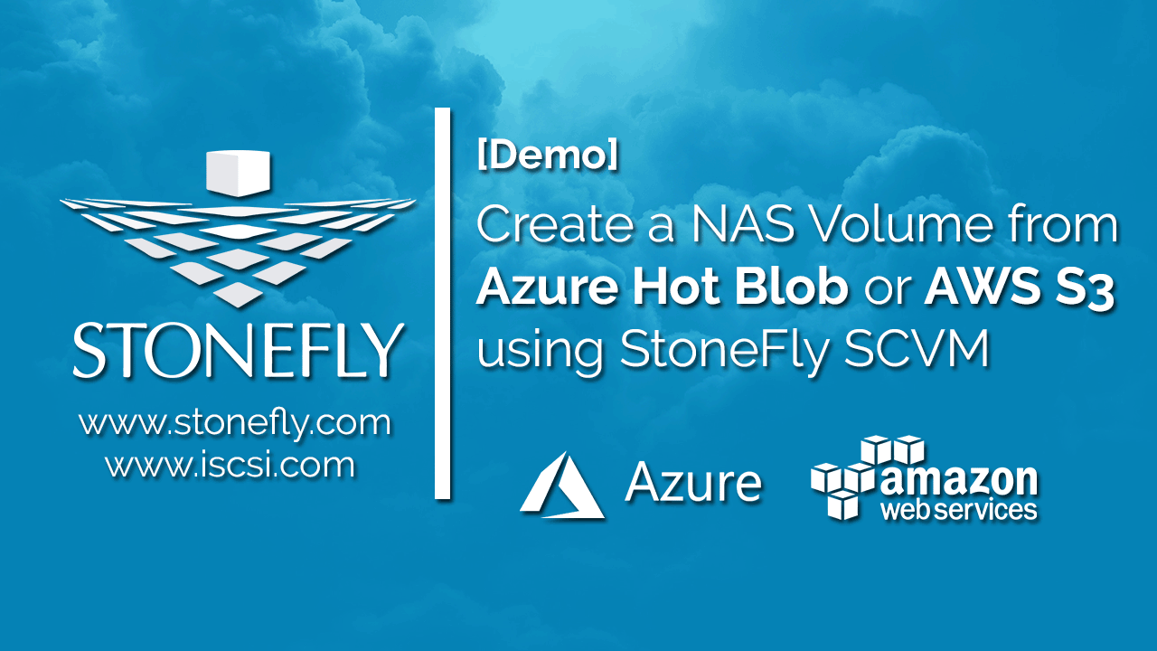 How to Create a NAS Volume in Azure Hot Blob