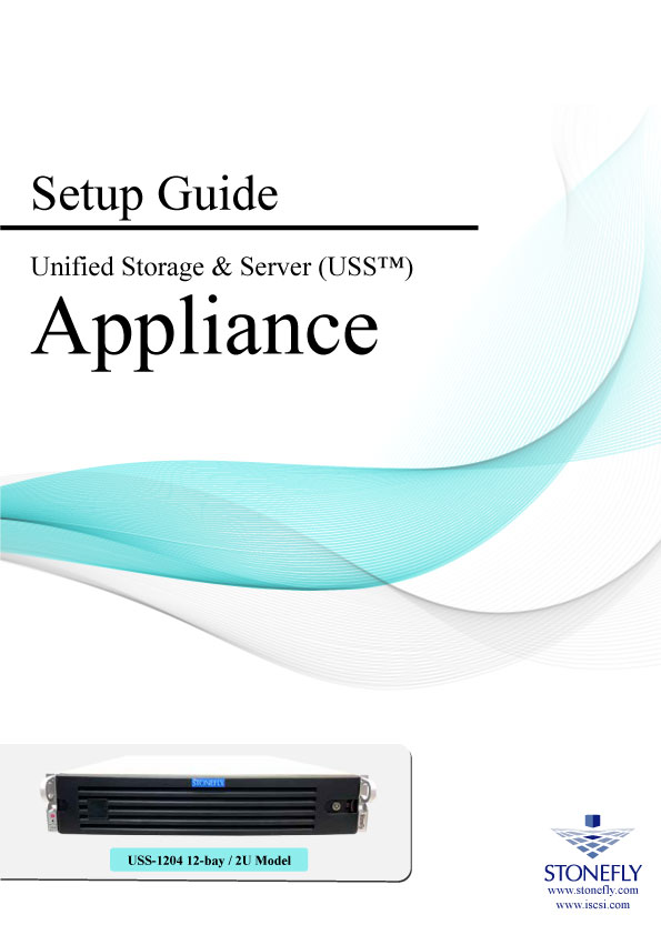 StoneFly Appliance and User Manuals 8