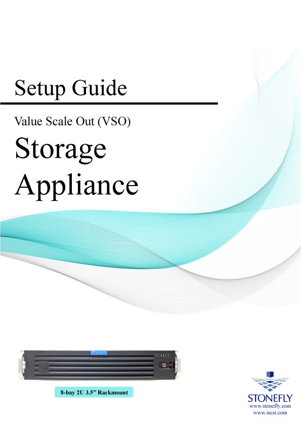 StoneFly Appliance and User Manuals 10