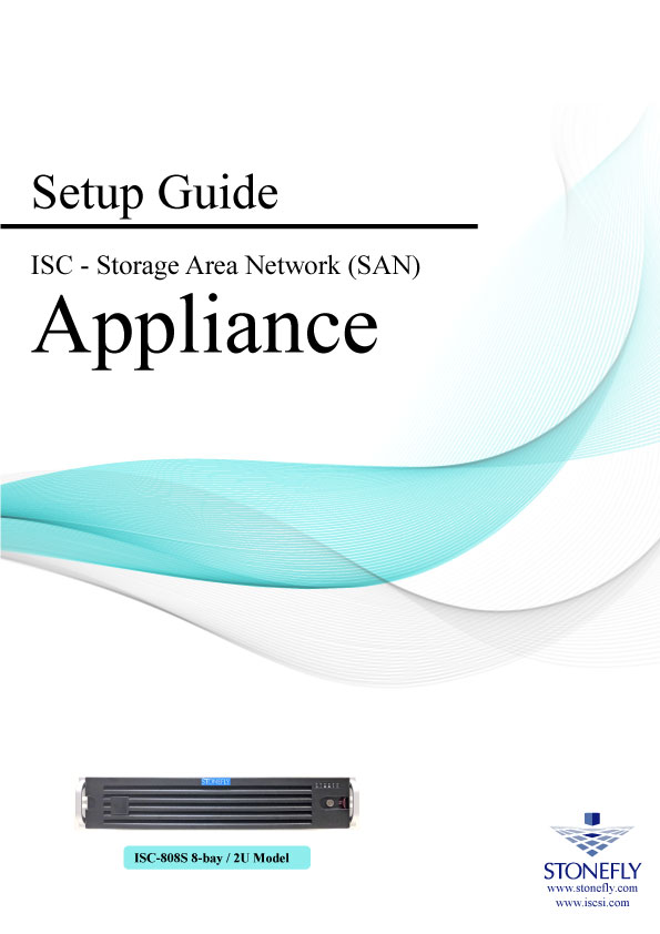 StoneFly Appliance and User Manuals 1