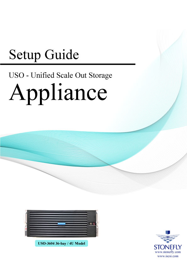 StoneFly Appliance and User Manuals 7