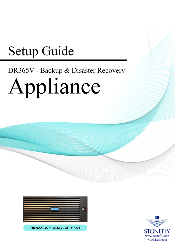 StoneFly Appliance and User Manuals 17