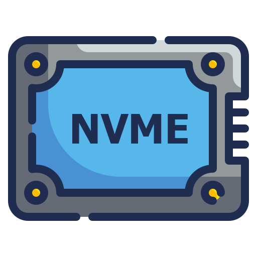 NVMe SSD flash drives